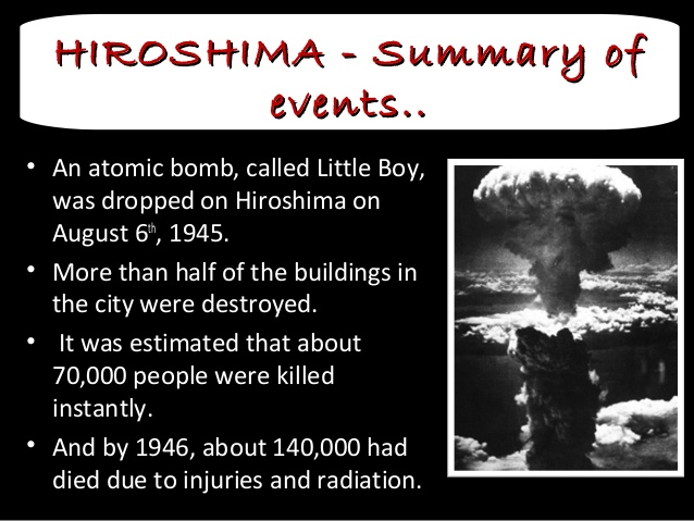 essay on atomic bomb The atomic bomb is a powerful, explosive nuclear weapon it is fueled by the fission of the nuclei of specific amounts of plutonium or uranium, in a chain reaction the strength of the explosion created by one of these bombs is equal to the strength of an explosion created by thousands of tons of tnt.